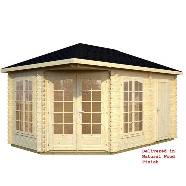 Gudrum sarah summer house with 2 rooms for Garden room 7m x 5m