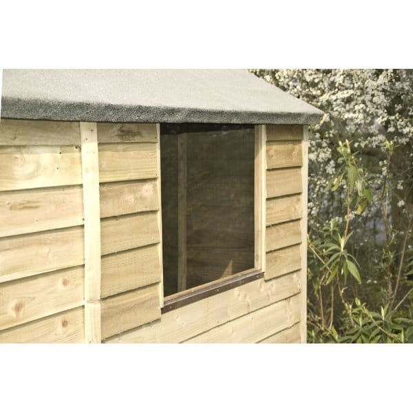 Rowlinson 6x4 overlap shed for Garden shed 6x4 sale