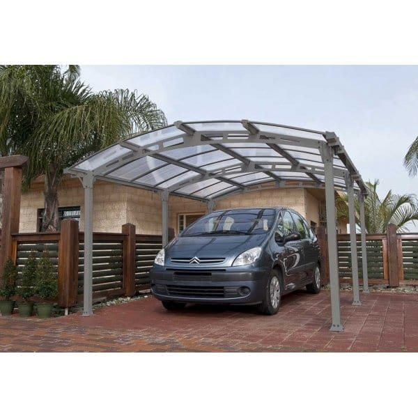 Metal Carport Cabins : Palram arcadia carport kit available from simply log