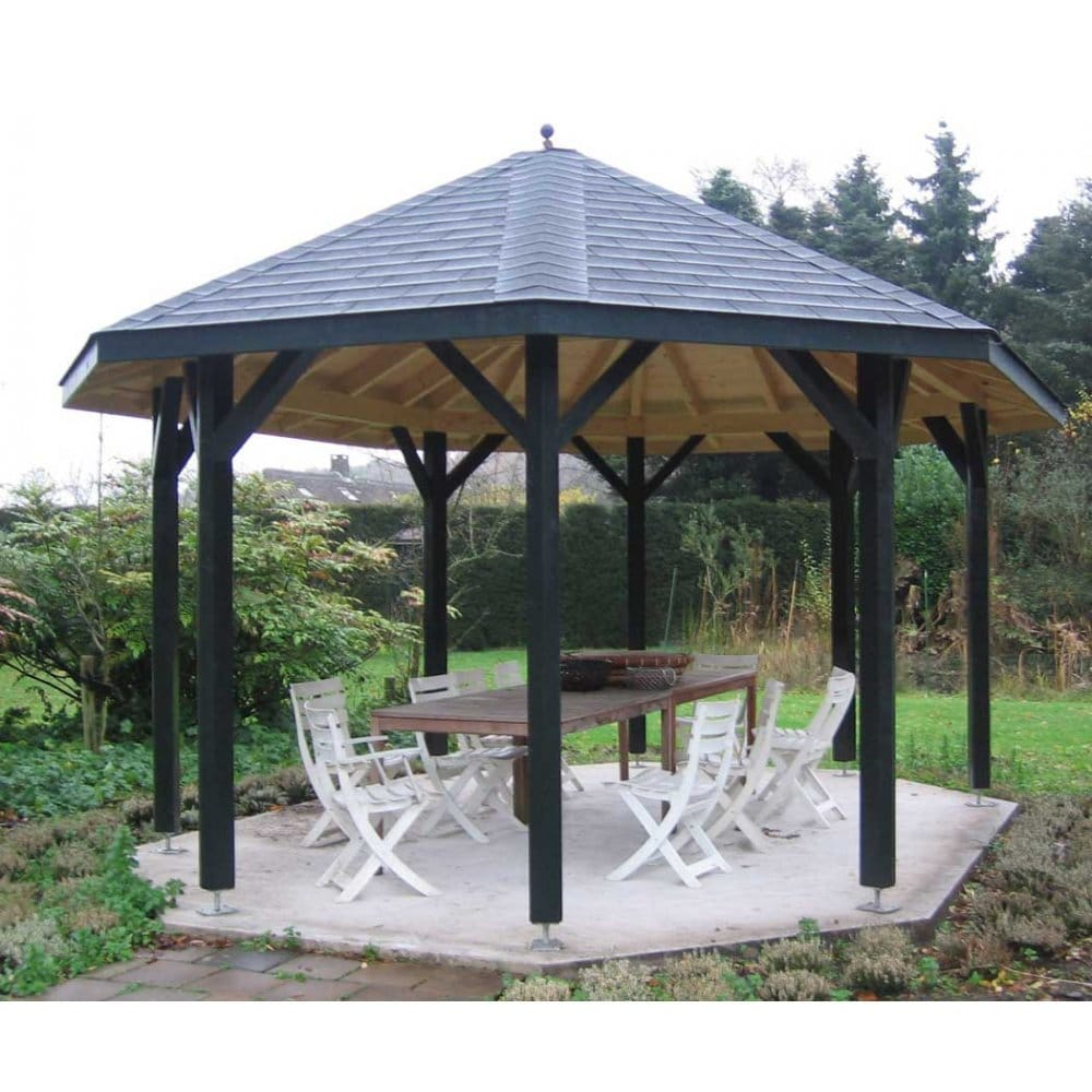 Bertsch Helena 3 Extended Octagonal Gazebo Pavilion 5 0m X