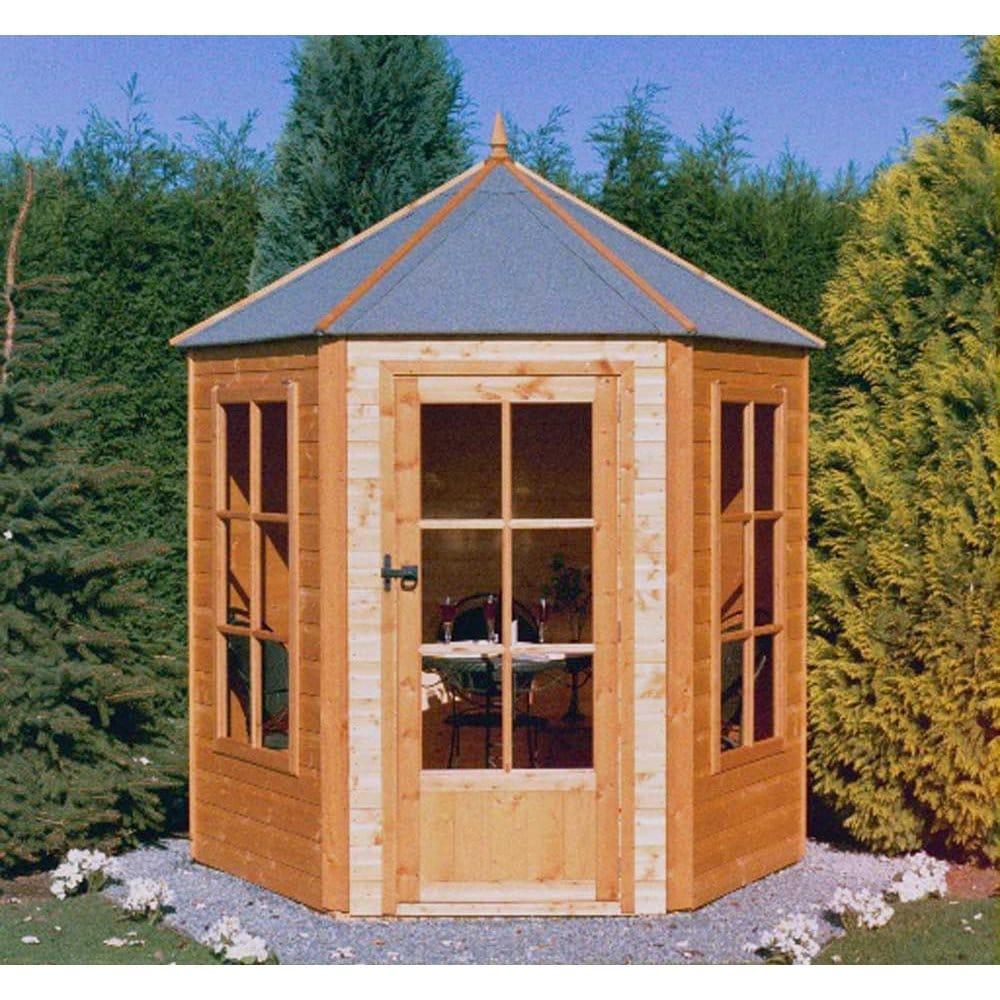 Gazebo Summer House Single Door 2 Windows