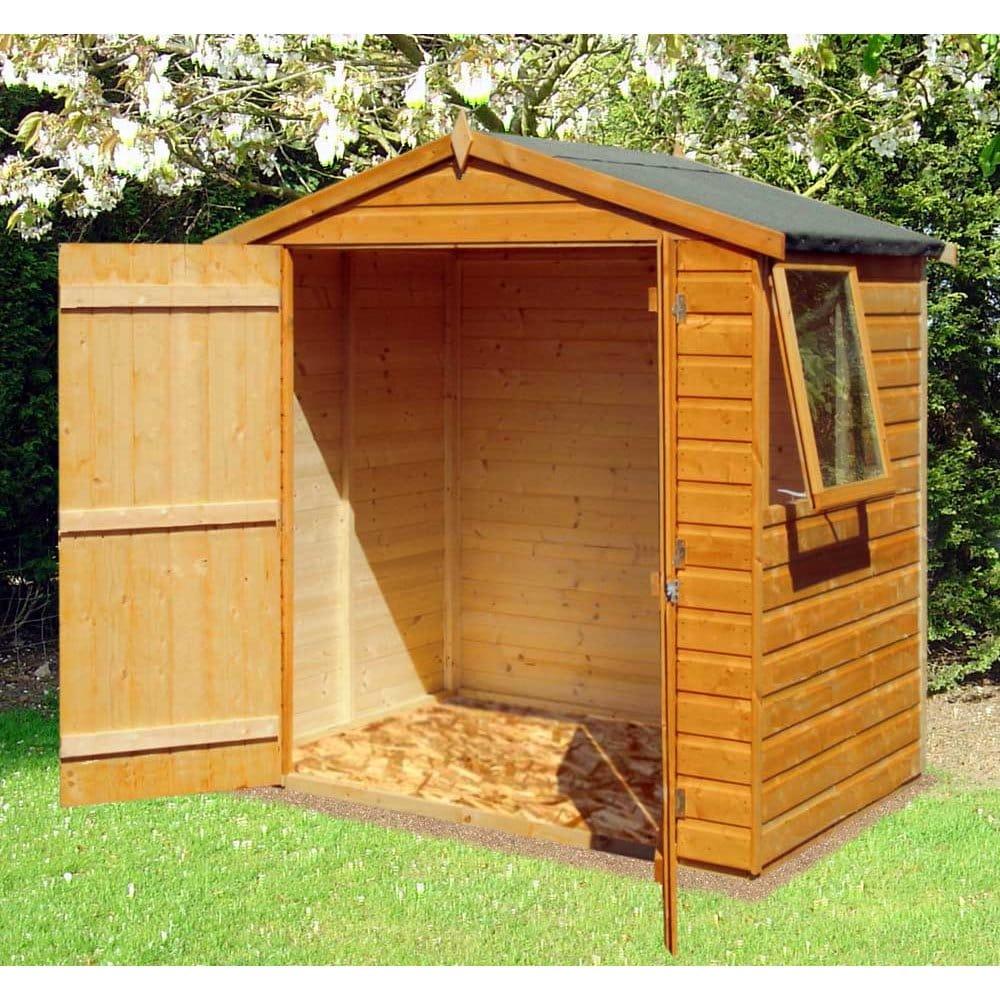 Bute 6ft x 4ft Garden Shed Double Door
