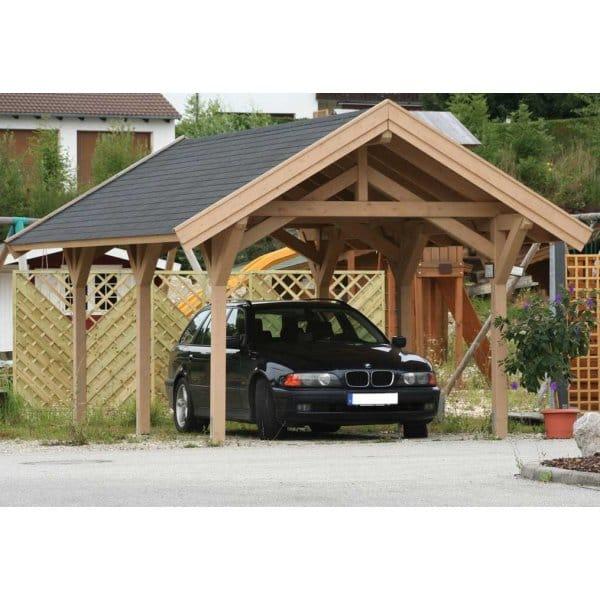 Alternatives Plans For The Carport Designs Wooden Carport: Bertsch Prestige Carport 304cm X 516cm Feauring Post And