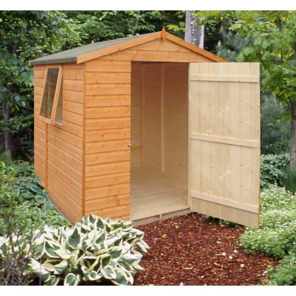 shire faroe 6 x 6 garden shed