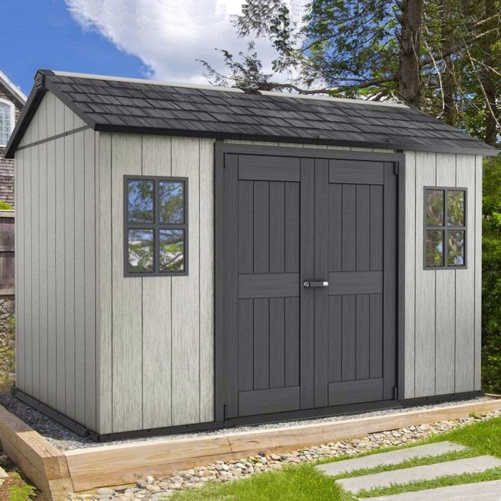 keter oakland 1175 shed 11 x 7ft. Black Bedroom Furniture Sets. Home Design Ideas
