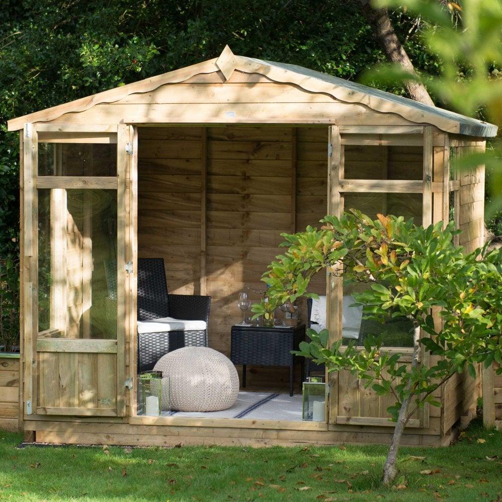 Summer Garden House: Forest Garden Oakley Summerhouse