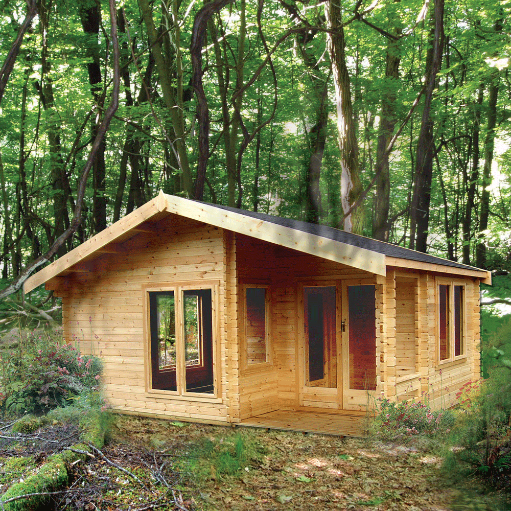 Shire New Forest Log Cabin
