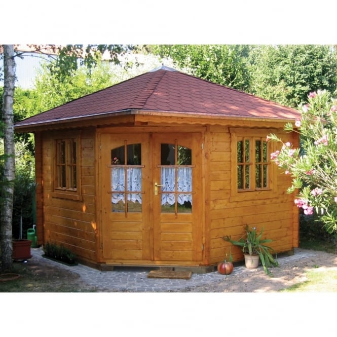 Bertsch Panta 4 45mm Wall Corner Cabin with Double Glazing
