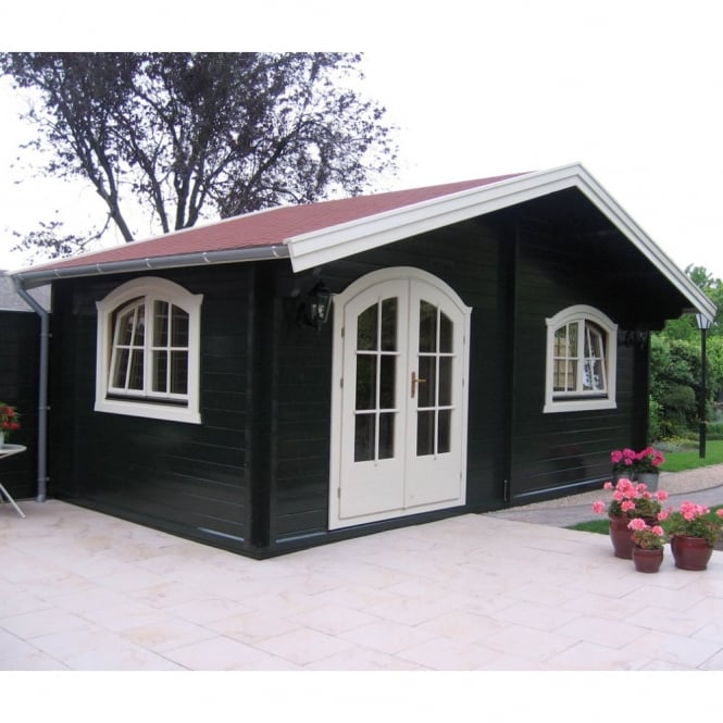 Bertsch Lana Log Cabin with Double Glazing