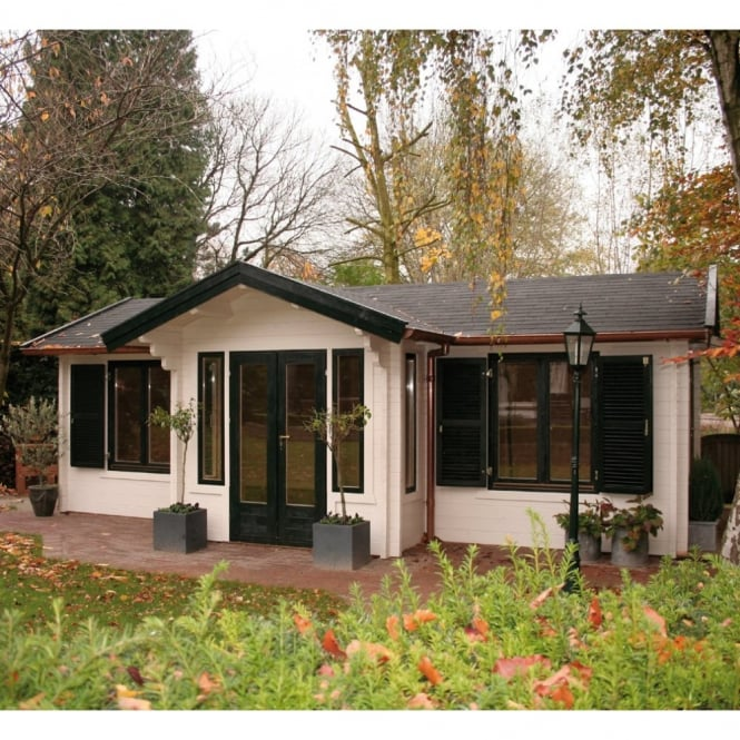 Leisure Log Cabin with 3.5 m x 8.5m Footprint