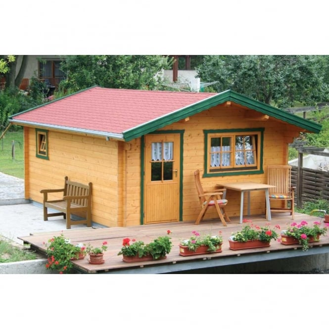 Bertsch Texas 45mm Wall Log Cabin