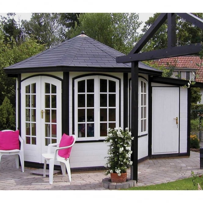 Bertsch Bordeaux Pavilion 8 Sides PLUS Store Summer House
