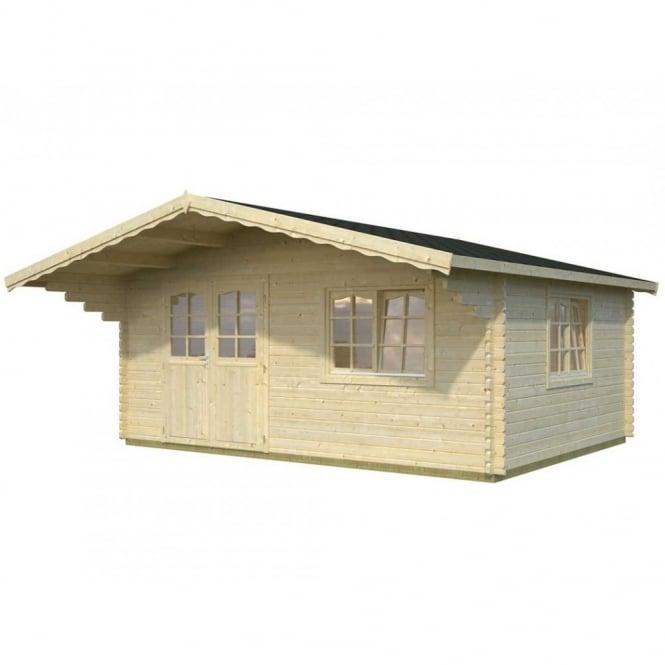 Sally 19.1m/sq Log Cabin