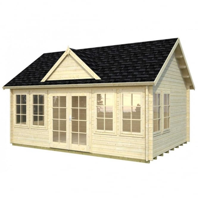 Claudia 19.4m/sq Log Cabin Summer House