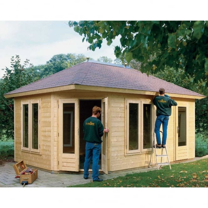 Lugarde Prima 5th Avenue Duo Maxi XL ORIGINAL Summer House 360cm x 540cm Penatgonal