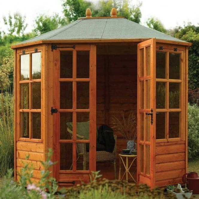Rowlinson Ryton 8x6 Octagonal Summerhouse