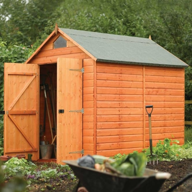 Rowlinson Security Shed with Shiplap Cladding