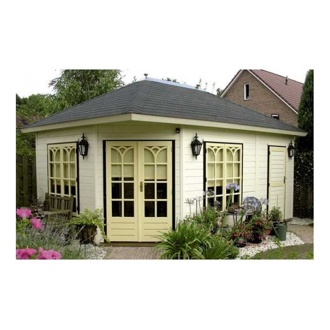 Lugarde Prima 5th Avenue Duo Maxi XL CLASSIC Summer House 360cm x 540cm Penatgonal