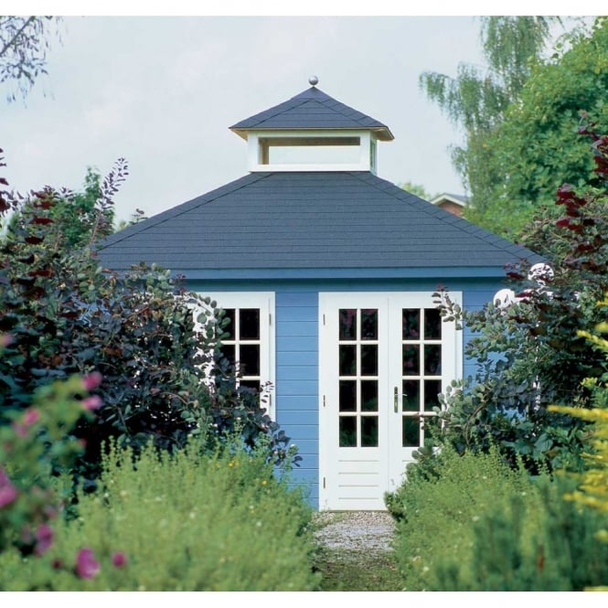 Lugarde Prima Max Summer House 420x420 With Skylight
