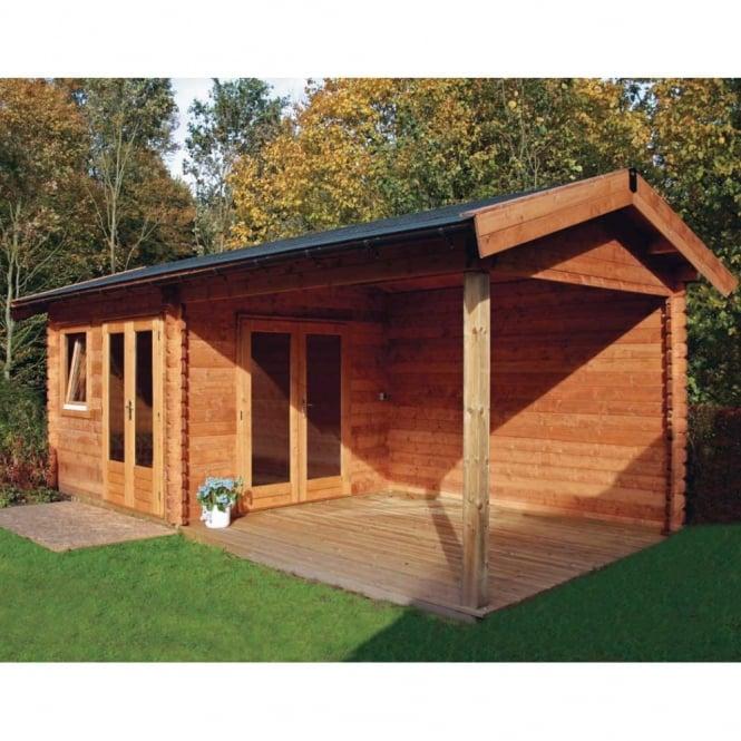 Mallorca Log Cabin 3.0m x 6.5m