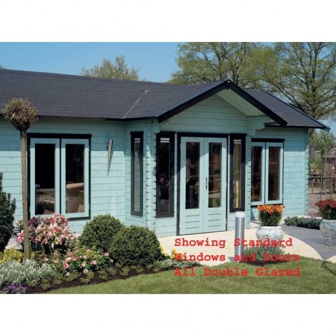 Daisy Log Cabin 5.5m x 8.5m
