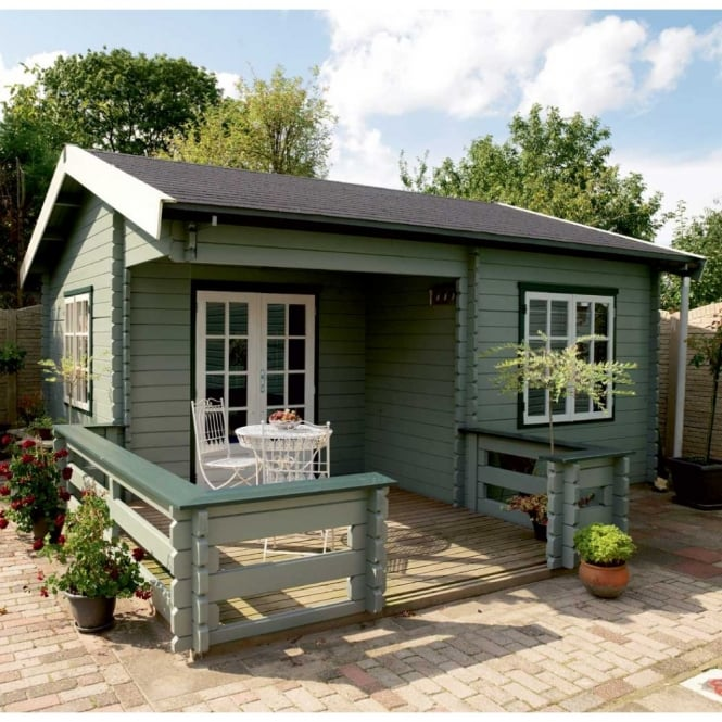 Lugarde Paris Log Cabin 5.0m x 5.0m