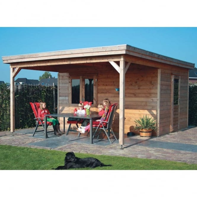 Lugarde Prima Lucas Summer House 4.8m x 4.2m