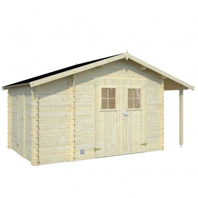 Meribel: 4.0m x 2.3m: 2 Rooms PLUS Bike / Log Store
