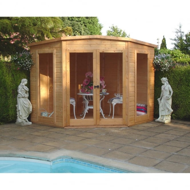Shire Barclay Corner Summer House 3 Sizes