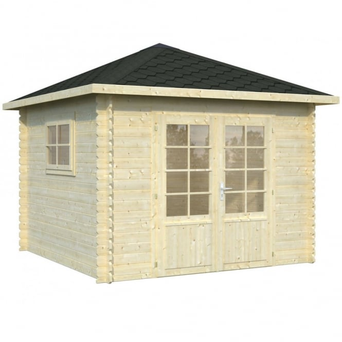 Whitewood Torino Log Cabin 2.9m x 2.9m