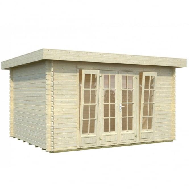 Whitewood Halmstadt Log Cabin: 4.0m x 3.2m