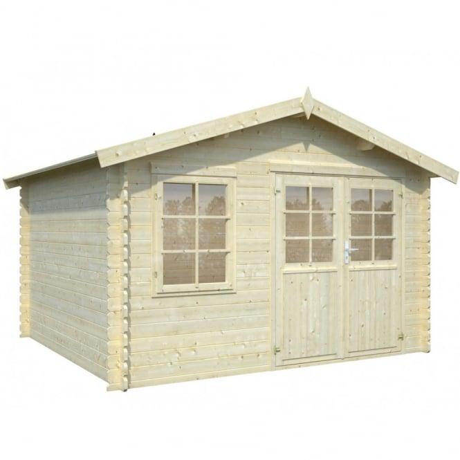 Whitewood Severine Log Cabin: 3.55m x 3.25m