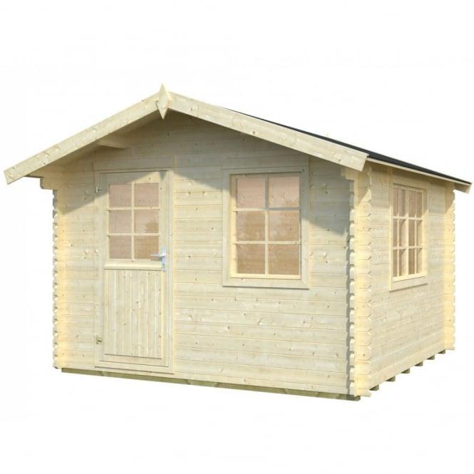 Whitewood Mosel Log Cabin: 3.2m x 3.2m