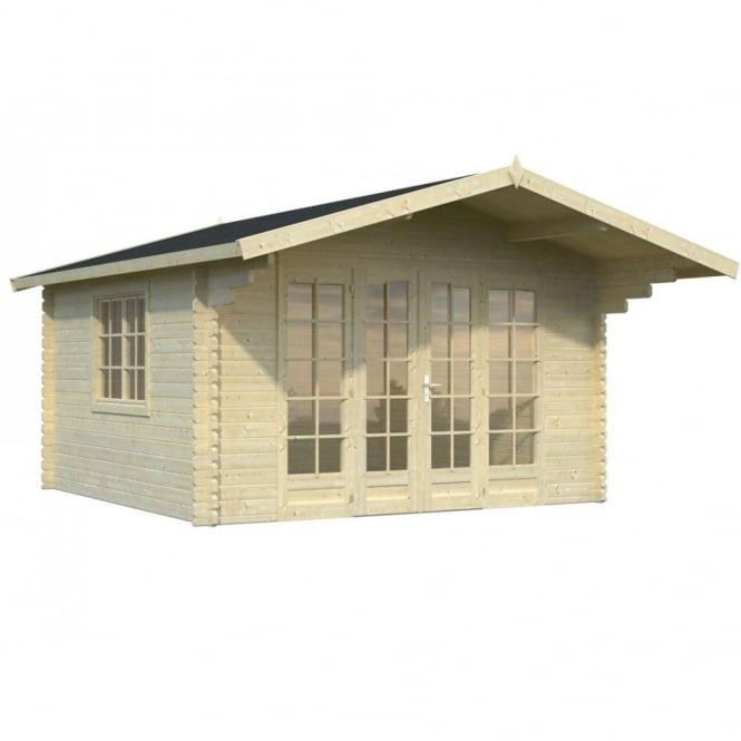 Whitewood Munich Log Cabin: 3.8m x 3.8m