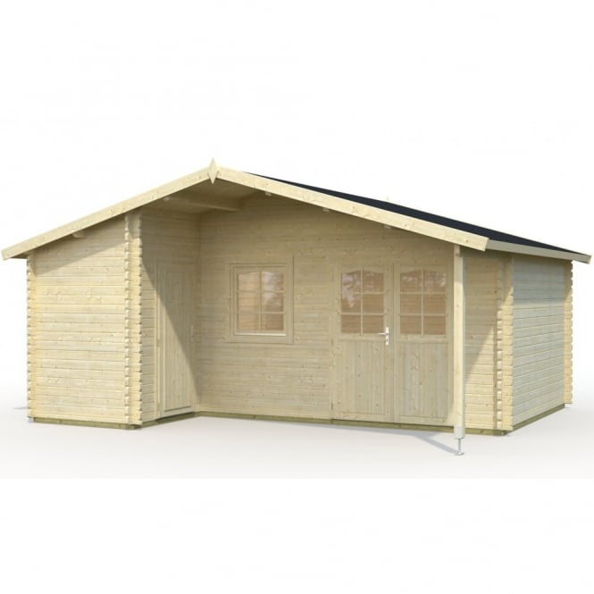 Gudrum Cottage Carla 5.8m x 3.4m (4.9m Including Canopy) 2 Room