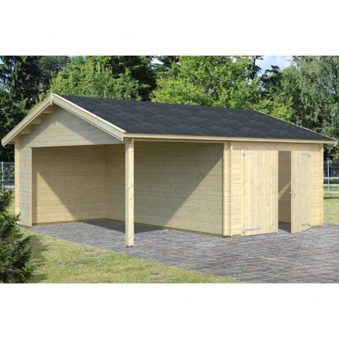 Classic Garage 5 Plus 6.15m x 5.3m