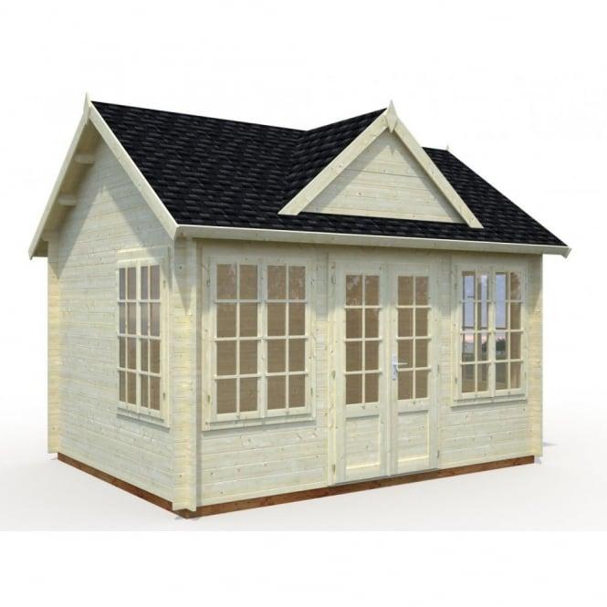 Claudia 11.5m/sq Log Cabin Summer House