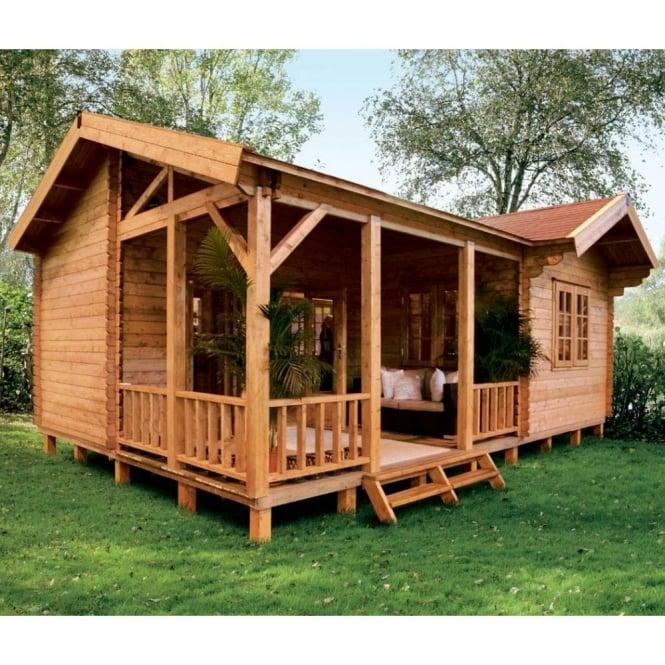 Rio Log Cabin 5.0m x 7.0m