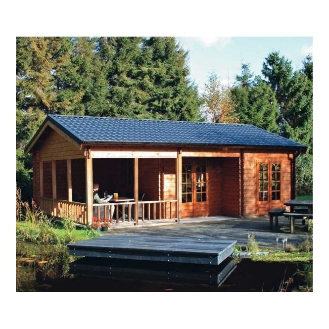 Lugarde Sicily Log Cabin 5.0m x 8.0m