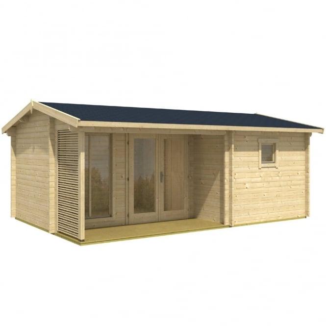 Carlton 3 Room Log Cabin