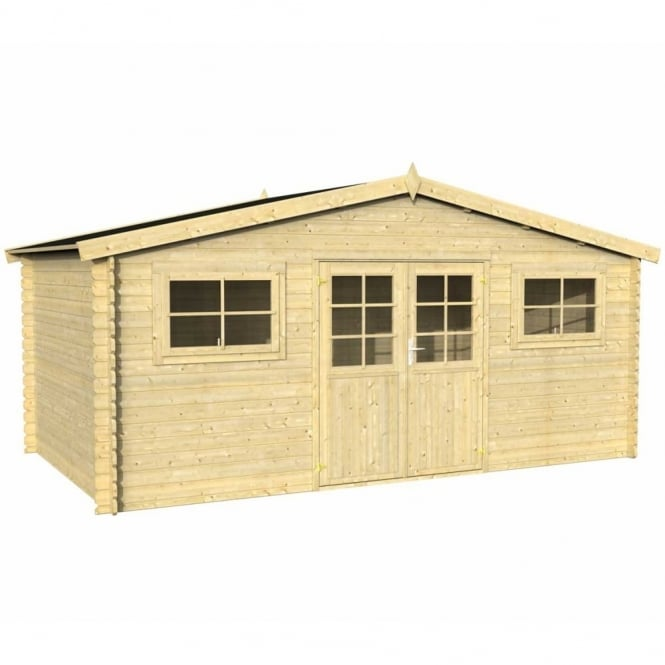 Whitewood Lodz 2 Log Cabin 5 x 3.8 FSC