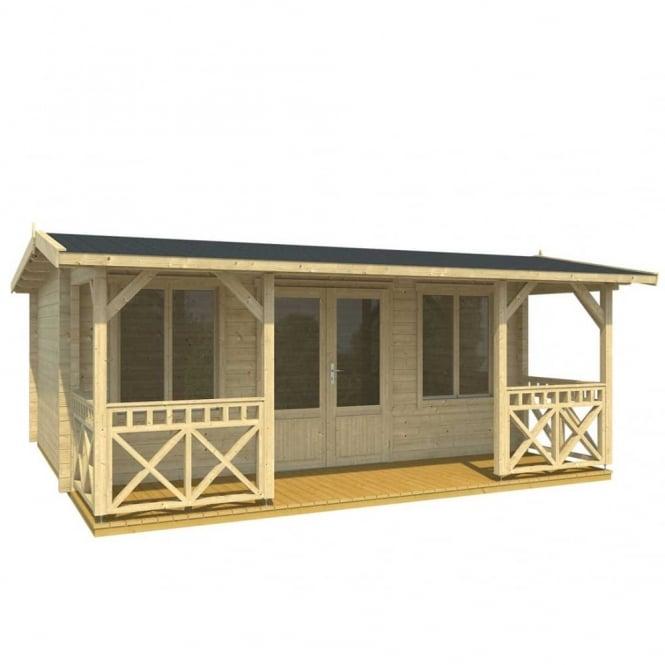 Norland Norburn Lo-Ridge Log Cabin