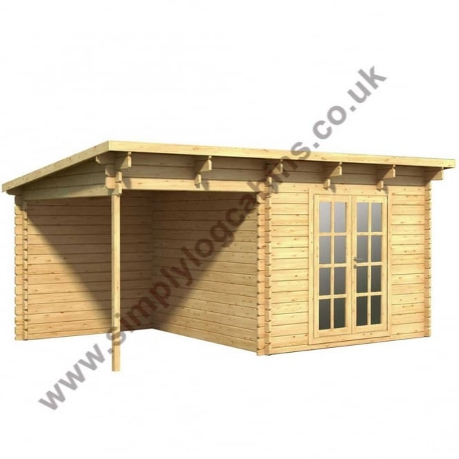Greetham Log Cabin