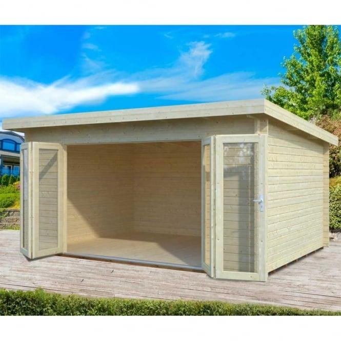 Gudrum Lea 1: 3.5 x 4.7m, Featuring Bi-Fold Doors