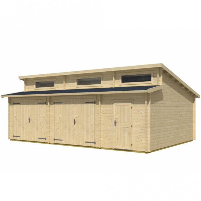 Norland Rawmarsh Log Cabin Garage