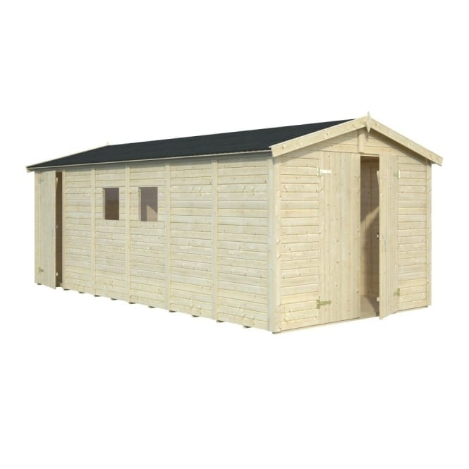 Dan 14.2m/sq Two Room Shed