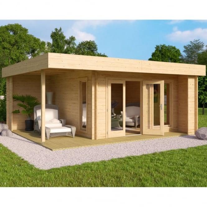 Claypole Log Cabin