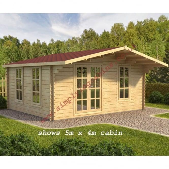 Melton 3, 4 and 5 Log Cabins