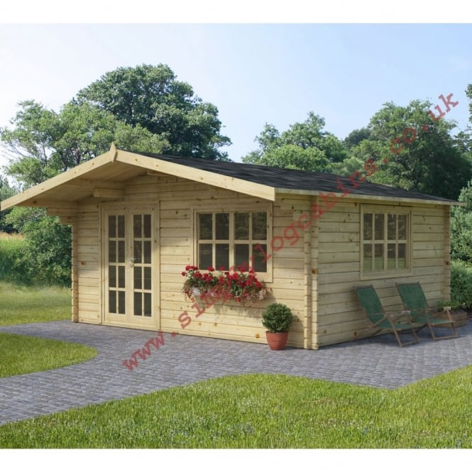 Melksham 3, 4 and 5 Log Cabins