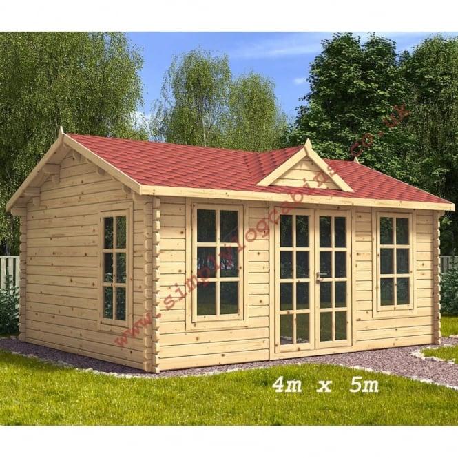 Clockhouse Log Cabin 2 sizes